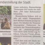 Braunschweiger Refomationsjubiläum in der Diskussion
